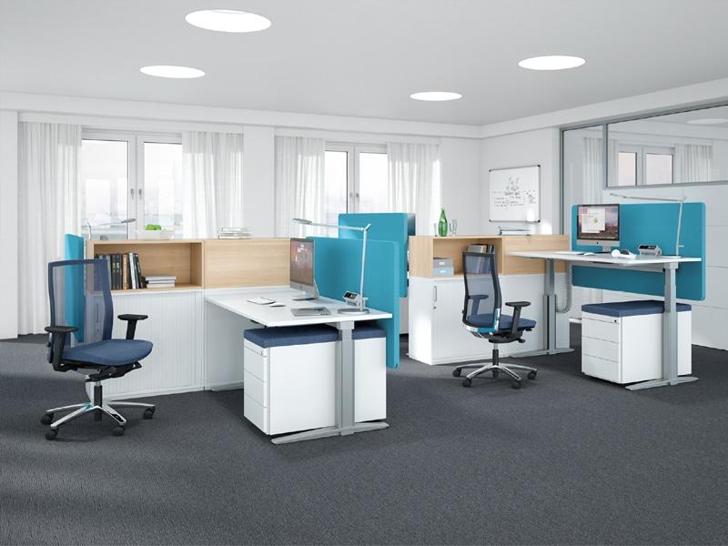 K+N Doppelarbeitsplatz - TALO.S