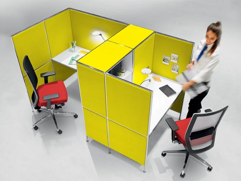 BOSSE Großraumarbeitsplatz - Microarbeitsplatz