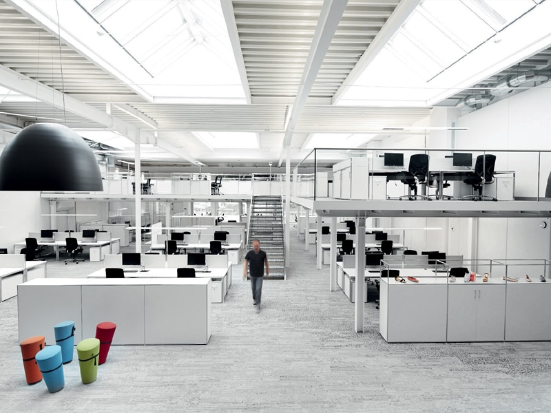 BOSSE Großraumarbeitsplatz - Open Space