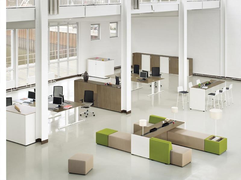 K+N Großraumarbeitsplatz - NET.WORK.PLACE